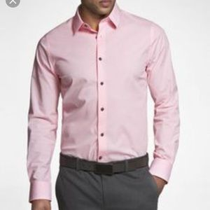 Express fitted button down